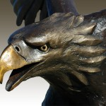 Head of the Eagle Sculpture