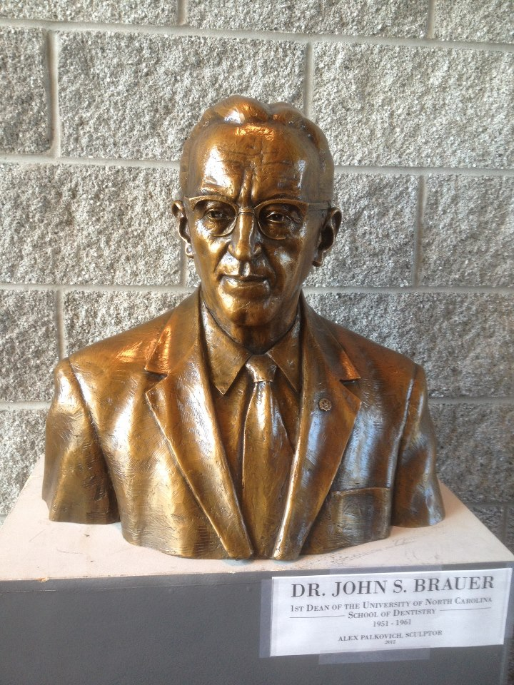Dr. John Brauer, 1st Dean of the North Carolina School of Dentistry