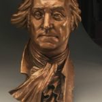 Father of His Nation - A Bronze Portrait of President George Washington