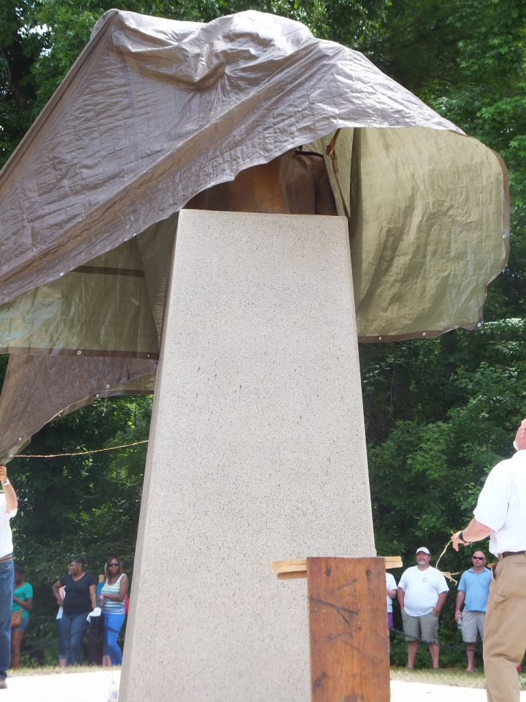 Unveiling the Francis Marion sculpture