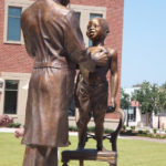 Dr. Beck - Bronze Monument - Florence, South Carolina