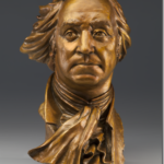 Bronze Bust of President George Washington - Father of His Nation