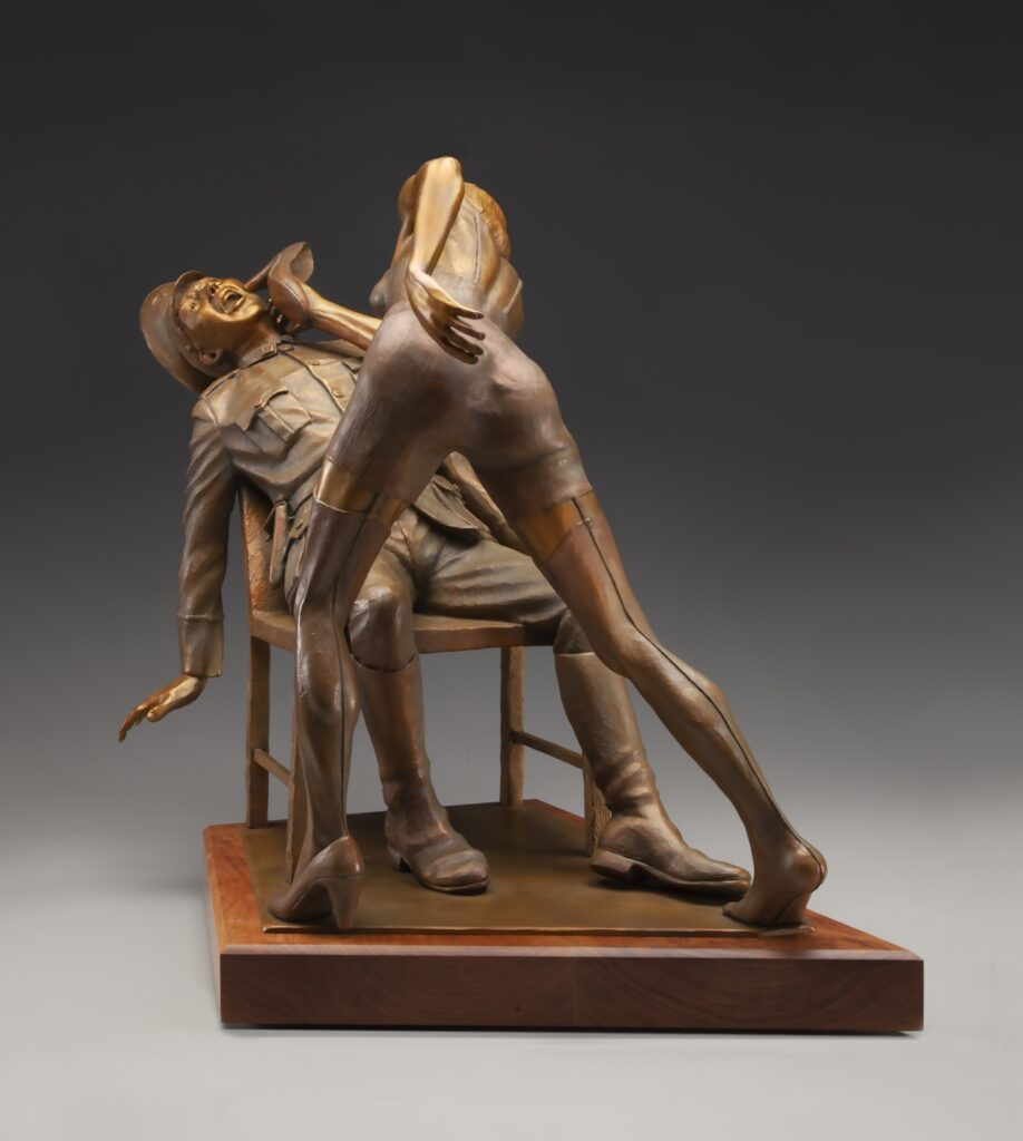 Bronze Sculpture - Franceska Mann